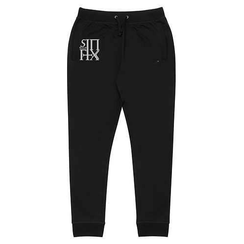 Black Sinfix Embroidered Joggers