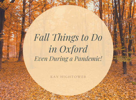 Fall Things to Do in Oxford