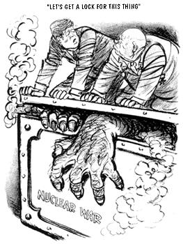 冷戦時の風刺画