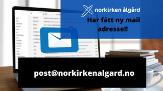 Ny mailadresse!