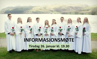 Informasjonsmøte- Konfirmasjon Ålgård Bedehus 2021. Tirsdag 26.januar kl. 19:30