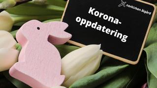Korona- oppdatering