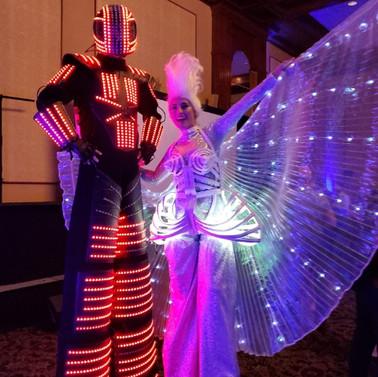 LED Stilts