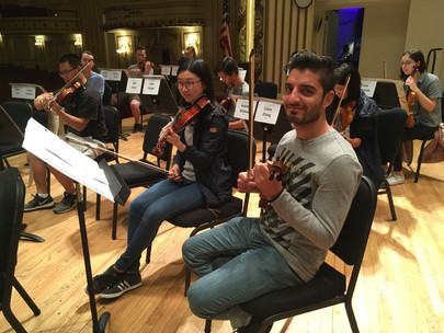 Two new faces in the St. Louis Symphony Youth Orchestra come from a world away