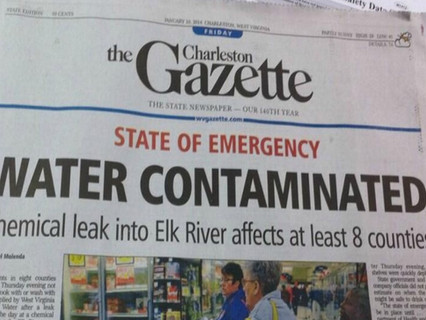Manmade Disaster  - Contaminated City Water