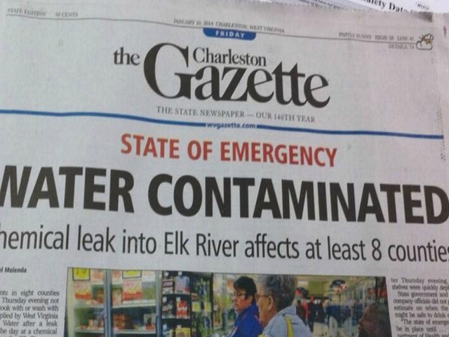 Manmade Disaster  - Contaminated City Water
