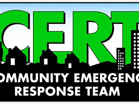 Community Emergency Response Team (CERT) Training - FREE