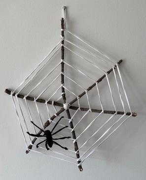 Toile d'araignée zéro déchet