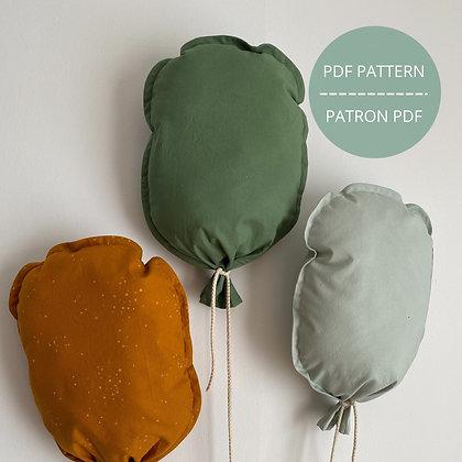 Ballon décoratif - Patron PDF