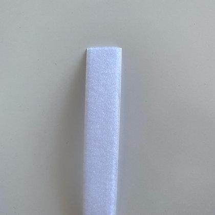 Velcro à coudre femelle (loop) - 25mm - blanc