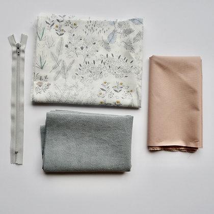 Ensemble - Création de la trousse de couture (fleurs)
