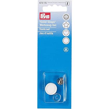 Jeu d'outils pour boutons pressions en plastique - PRYM