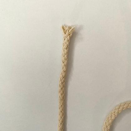 Corde de coton naturel 6mm