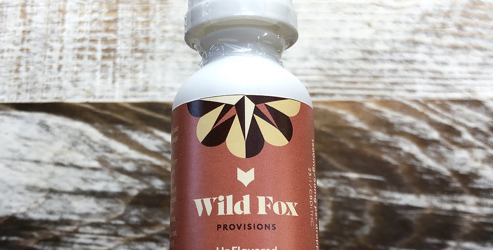 1500mg Unflavored Tincture