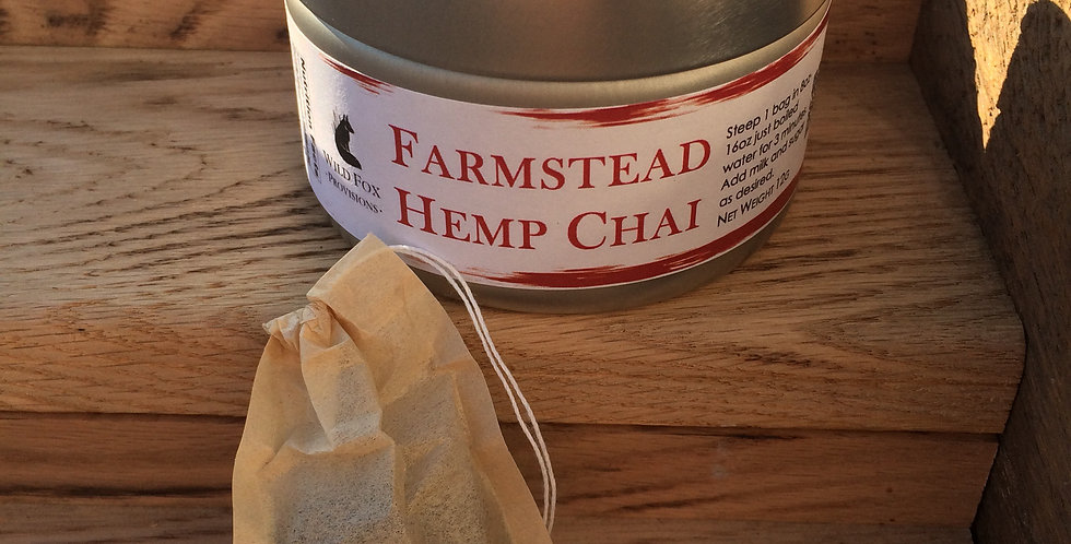 Case (10pc) Farmstead Hemp Chai