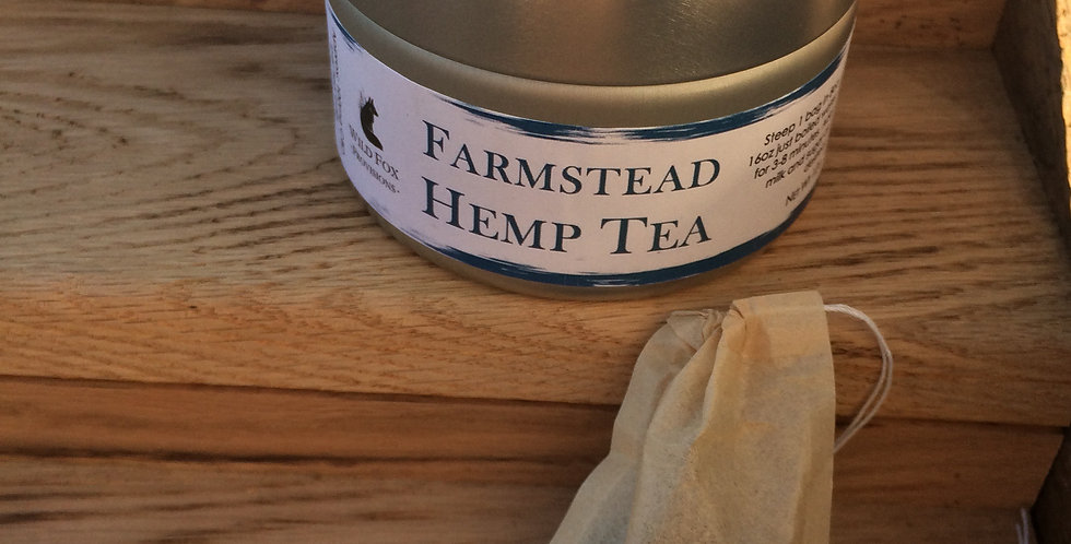 Case (10pc) Farmstead Hemp Tea