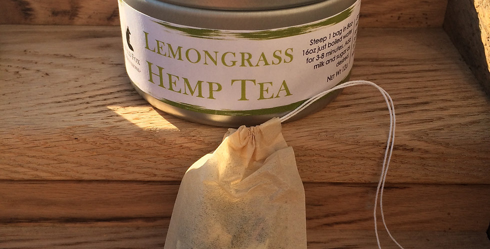 Case (10pc) Lemongrass Hemp Tea