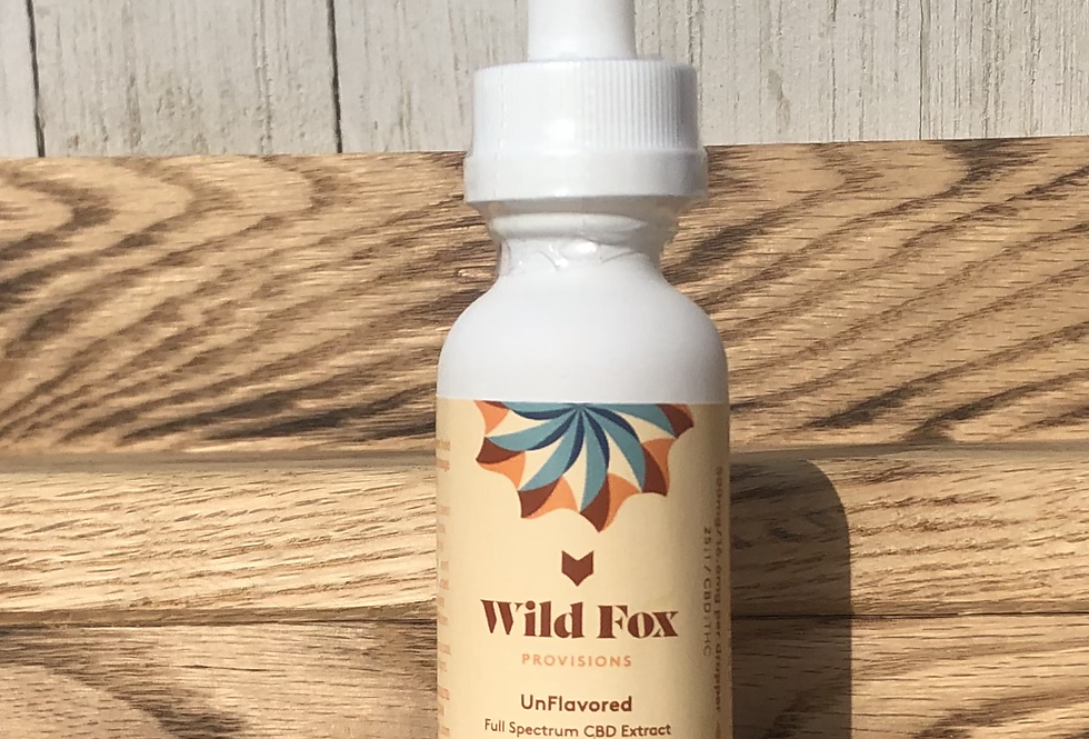 Case (6pc) 500mg Unflavored Tincture
