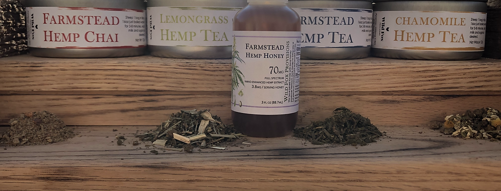Hemp Tea Subscription: Loose Leaf, Premium Plan