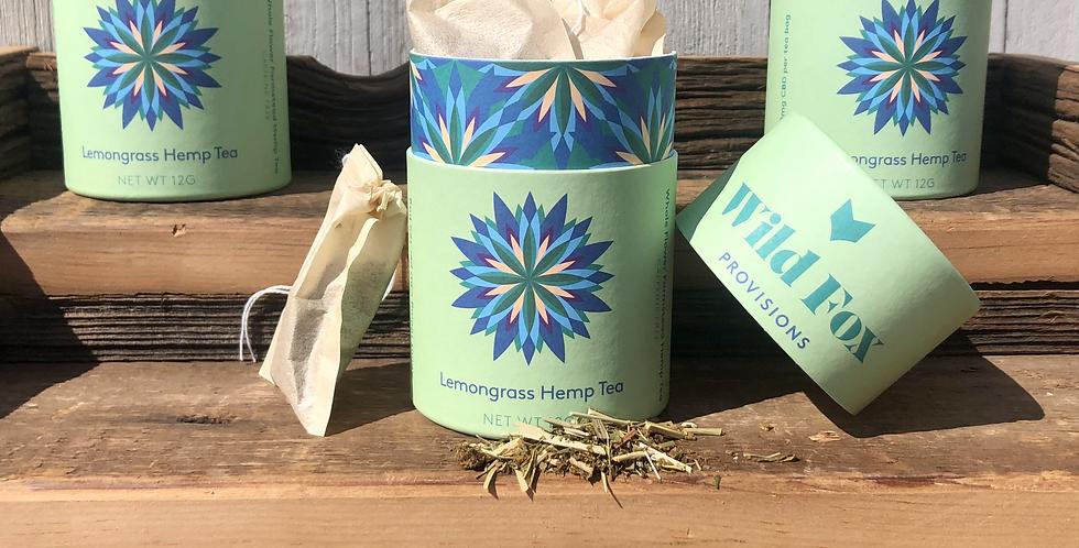 Lemongrass Hemp Tea