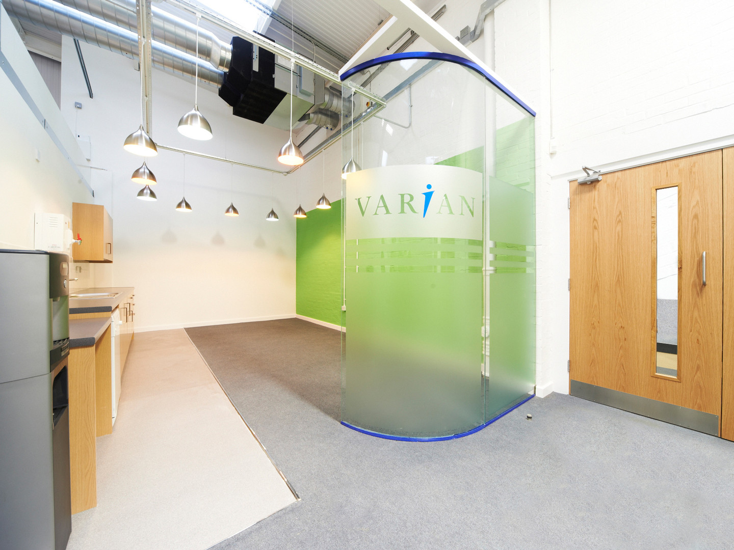 Varian Medical Systems, Crawley