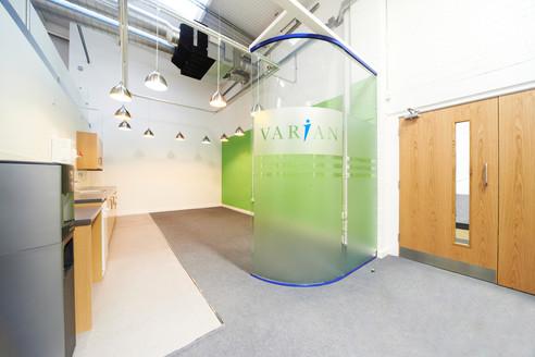 Varian Medical Systems, Crawley