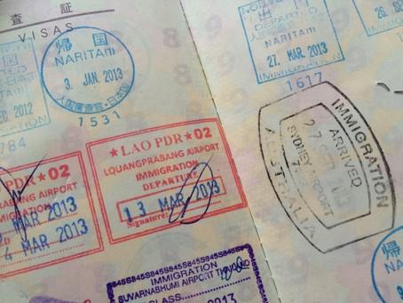 ビザ取得と入国は別問題