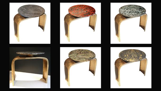 Bridge Legs Table