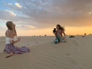 Dani Parkinson Desert Shoot