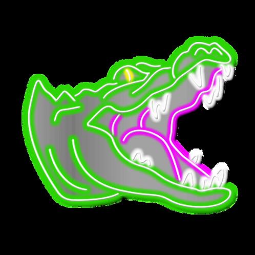 CROCODILO - 65x53cm
