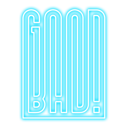 GOOD-BAD by Yash Mathur - 50x70cm -