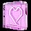 Thumbnail: HEARTBOX -20X20CM-
