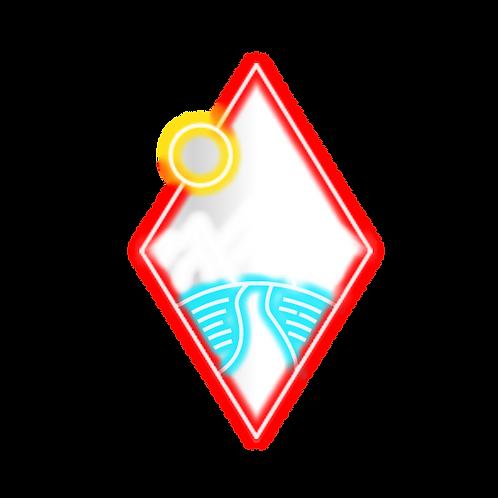 EMPTY ROAD By Alma de diamante - 38X60CM -