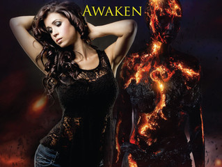 Amber Flora, Author of Between Two Realms Awaken, a Paranormal Romance