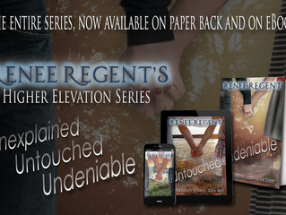 Renee Regent, Author of Unexplained (Higher Elevation series), a Paranormal Romance