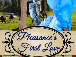 Pleasance's First Love by Kristin Holt, a Historical Romance