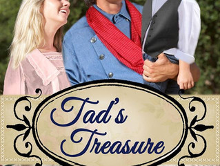 Tad's Treasure by Shanna Hatfield, a Historical Romance