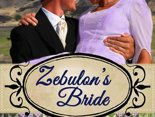 Zebulon's Bride, by Patricia PacJac Carroll, a Historical Romance
