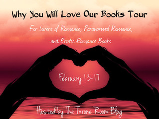 Why You Will Love Our Books Tour...Coming Soon!