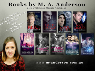 Maggie Anderson, Author of Wolf Blood: A Moon Grove, Paranormal Romance Thriller