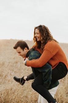 Erin & Tedd: Willmar Engagement Session
