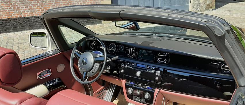 Rolls Royce Drophead White Huren louer louer