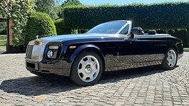 Rolls Royce Phantom Drophead Cabrio huren louer