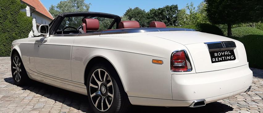 Rolls Royce Drophead blanche location louer rent