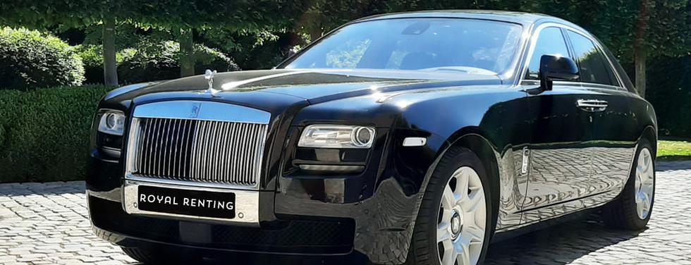 Rolls Royce Ghost huren louer rent
