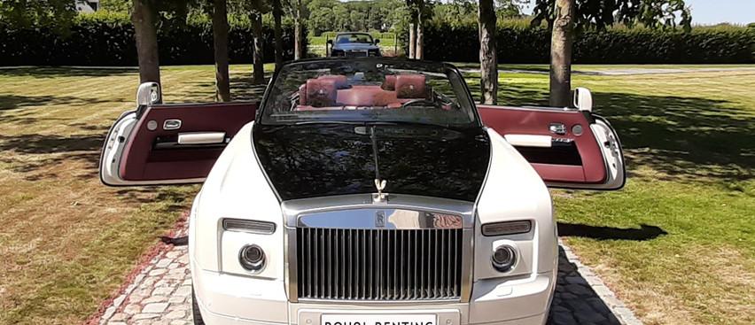 Rolls Royce Phantom Drophead White Huren louer louer