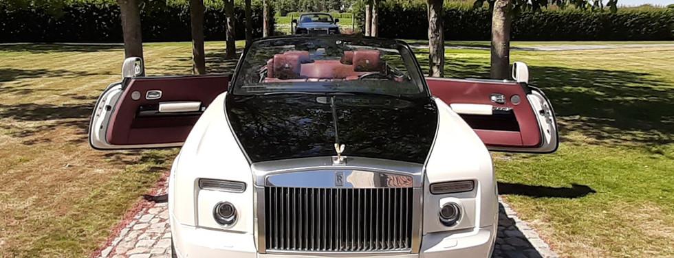Rolls Royce Phantom Drophead wit huren verhuur