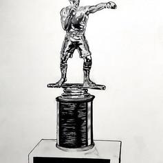 """40. DAMIAN BAUTISTA  """"Boxing Trophy"""""""