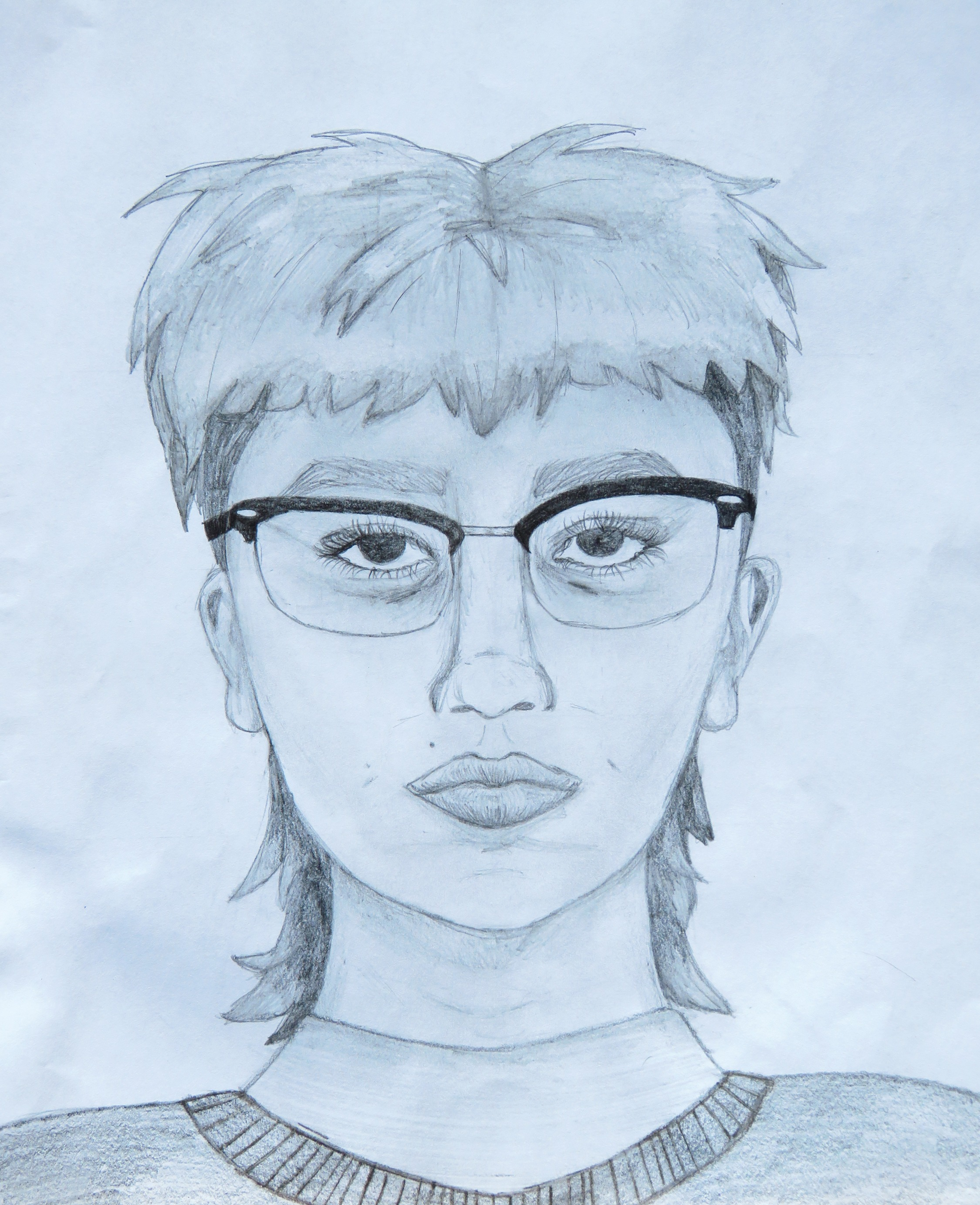 "53. MAYAH LOPEZ  ""Self-Portrait"""