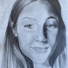"31. JULIE HARRIS  ""Self Portrait"""